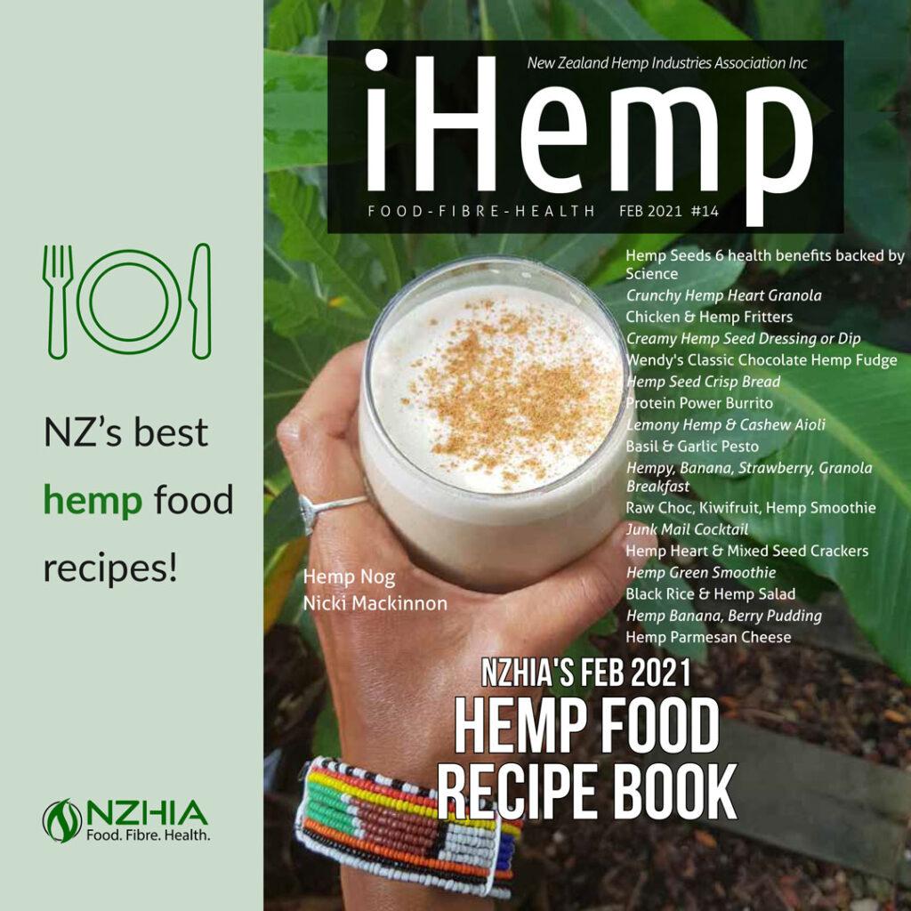 NZHIA Hemp Food Recipe Book